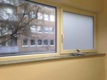 Blickschutz mit Glasdekorfolie