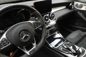 Mercedes-Benz Carbon Interieur Folierung