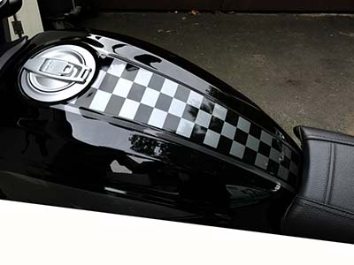 Motorrad Sticker Und Folierung Nach Wunsch Auch Ohne