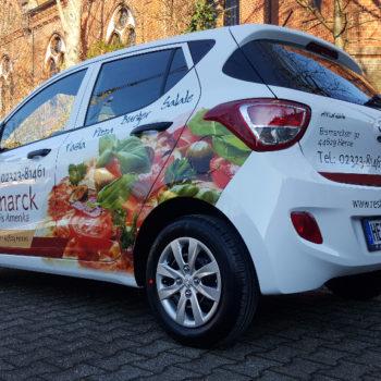 Autofolierung 〉 Herne 〉 Restaurant Bissmark