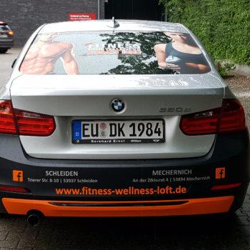 Autofolierung 〉 Mechernich 〉 DK Fitness und Wellness Loft