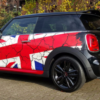 Car Wrapping 〉 Herne 〉 BMW Mini