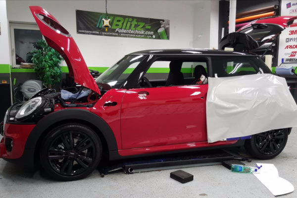 Car Wrapping 〉 Herne 〉 BMW Mini