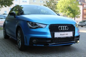 Car Wrapping 〉 Bochum 〉 Tiemeyer Gruppe - Audi A1