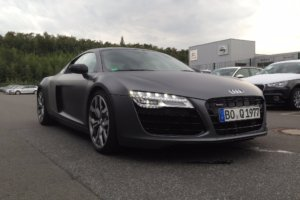 Car Wrapping 〉 Bochum 〉 Tiemeyer Gruppe - Audi R8