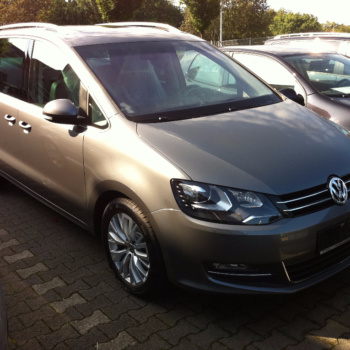 Car Wrapping 〉 Bochum 〉 Tiemeyer Gruppe - VW Sharan