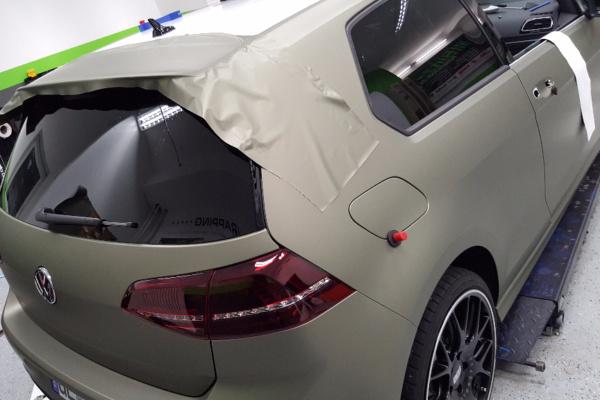 Car Wrapping 〉 Gelsenkirchen 〉 VW Golf