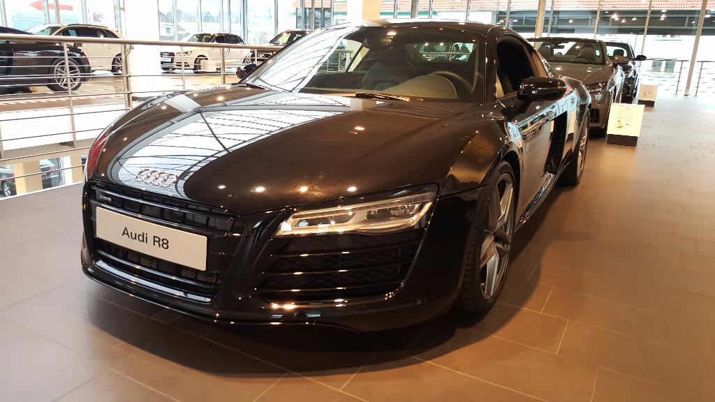 Car Wrapping 〉 Schwelm 〉 Tepass + Seiz - Audi R8