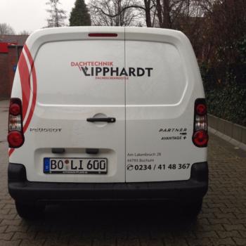 Fahrzeugbeschriftung 〉 Bochum 〉 Dachtechnik Lipphardt