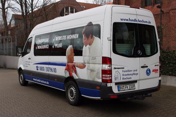 Fahrzeugbeschriftung 〉 Bochum 〉 Familien & Krankenpflege