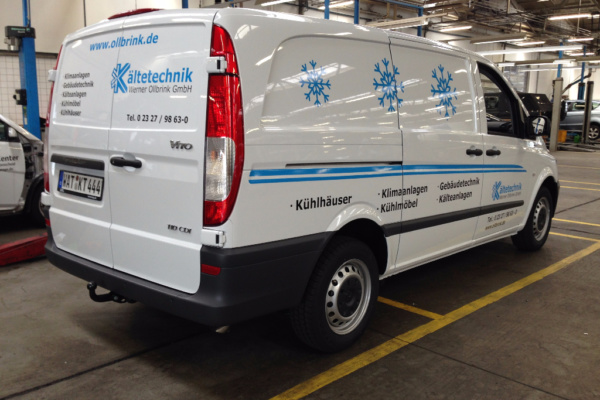 Fahrzeugbeschriftung 〉 Bochum 〉 Kältetechnik Ollbrink