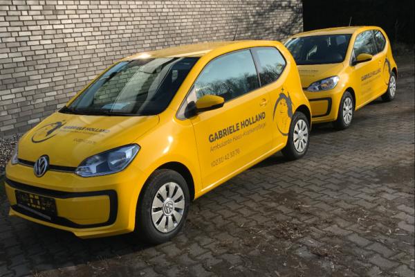 Fahrzeugbeschriftung 〉 Dortmund 〉 Gabriele Holland