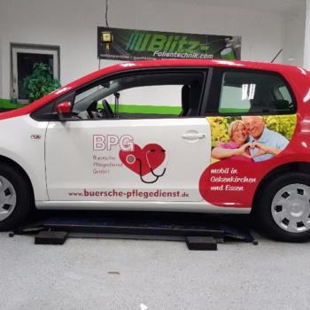 Fahrzeugbeschriftung 〉 Essen 〉 BPG Buersche Pflegedienst