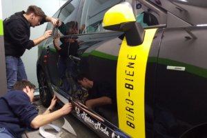 Fahrzeugbeschriftung 〉 Gelsenkirchen 〉 Büro Biene