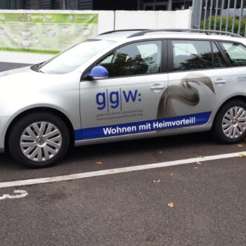 Fahrzeugbeschriftung 〉 Gelsenkirchen 〉 GGW Wohnungsbaugesellschaft