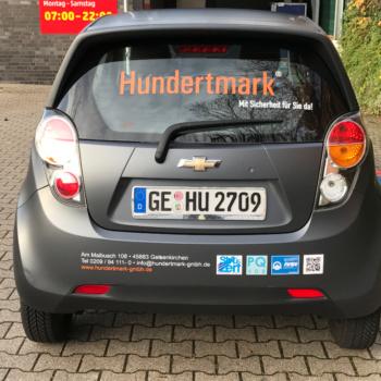 Fahrzeugbeschriftung 〉 Gelsenkirchen 〉 Hundertmark