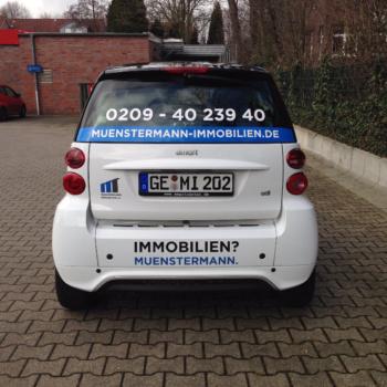 Fahrzeugbeschriftung 〉 Gelsenkirchen 〉 Münstermann