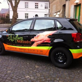Fahrzeugbeschriftung 〉 Hattingen 〉 Fußpflege Marzadro