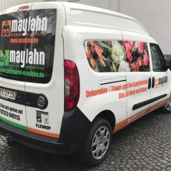 Fahrzeugbeschriftung 〉 Herne 〉 Maylahn Blumen und Floristik