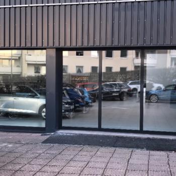 Werbetechnik 〉 Fassadenverkleidung