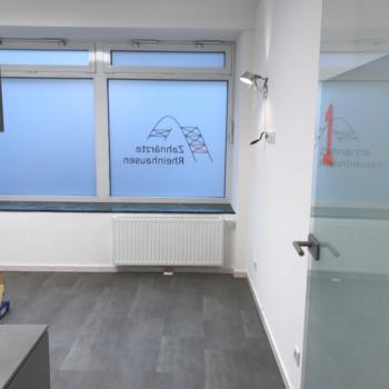Werbetechnik 〉 Glasdekor & Schaufensterbeschriftung